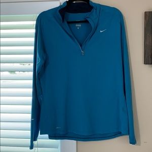 XL Nike dry fit 1/4 zip